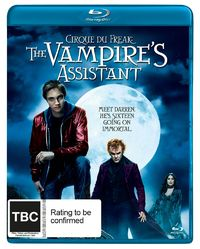 Cirque Du Freak: The Vampires Assistant (Bluray) on Blu-ray