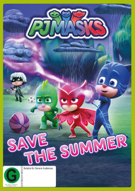PJ Masks: Save The Summer on DVD