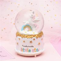 Unicorn Snow Globe - Rainbow