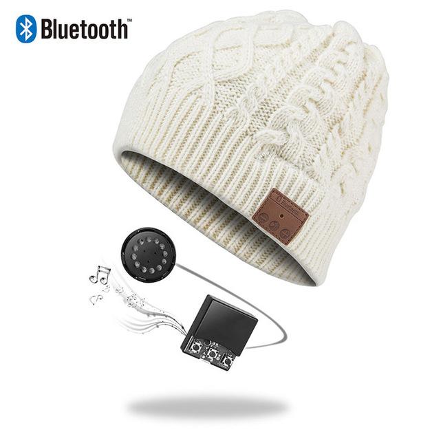 Ape Basics: Wireless Bluetooth Music Cap - Beige
