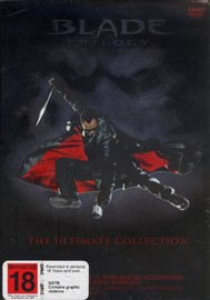 Blade Trilogy - The Ultimate Collection (3 Disc) on DVD image