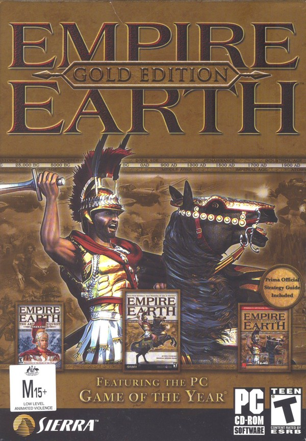 Empire Earth Gold Edition for PC Games image
