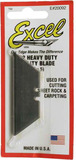 Excel Heavy Duty Standard Utility Knife Blades (5pc)