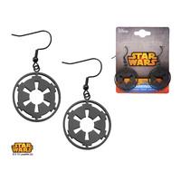 Star Wars Imperial Symbol Earrings