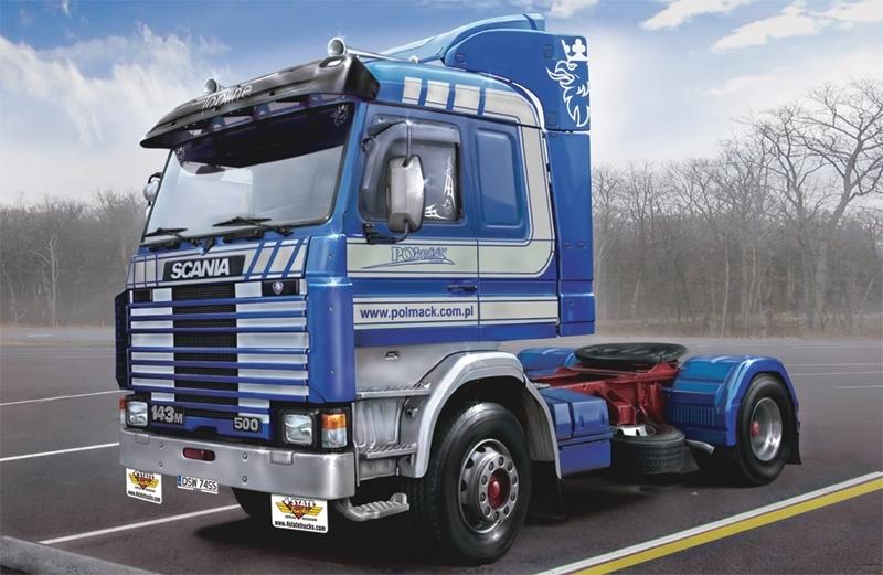 1:24 Scania 143m Topline 4x2 - Model Kit image