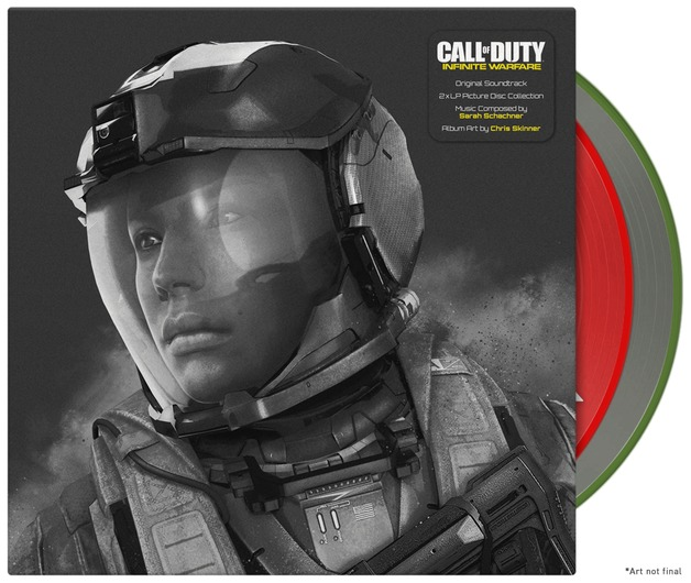 Call of Duty: Infinite Warfare OST - Vinyl Collection by Sarah Schachner