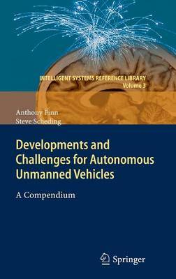 Developments and Challenges for Autonomous Unmanned Vehicles by Anthony Finn image