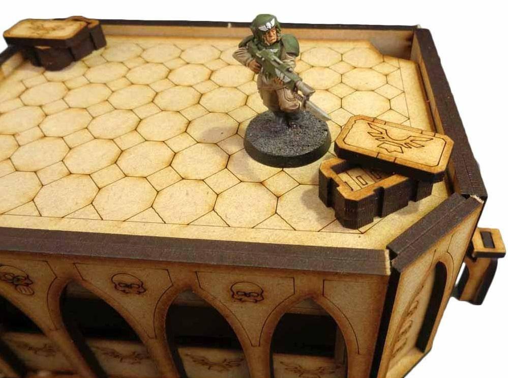 TTCombat: Tabletop Scenics - Gothic Bunker Mk II image