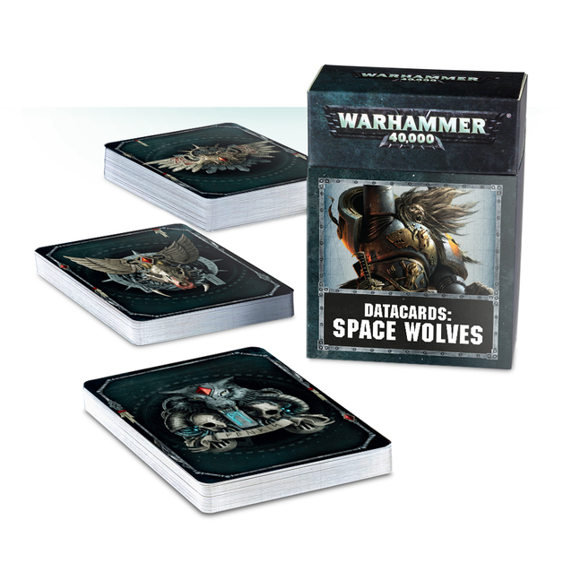 Warhammer 40,000: Space Wolves Data Cards