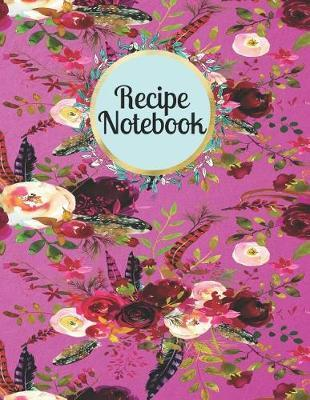 Recipe Notebook by Mahtava Journals