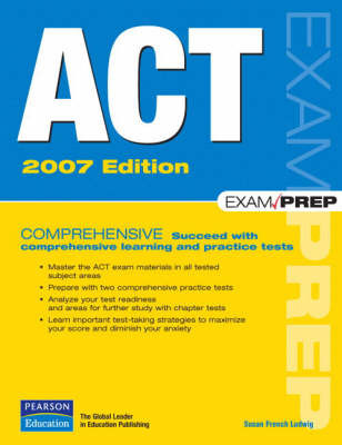 ACT Exam Prep: 2007 by Susan Ludwig image