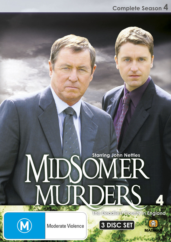 Midsomer Murders - Complete Season 4 (Single Case ) on DVD