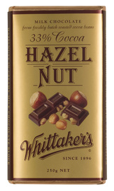 Whittakers Hazelnut Block (250g)