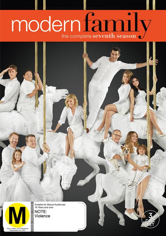 Modern Family - The Complete Seventh Season on DVD