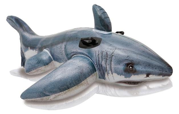 Intex: Great White Shark Ride-On