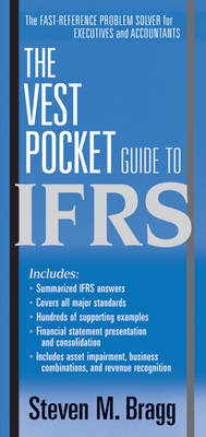 The Vest Pocket Guide to IFRS by Steven M. Bragg image