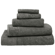 Bambury Costa Cotton Bath Towel (Pewter)