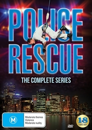 Police Rescue - The Complete Series (Seasons 1-5) on DVD image