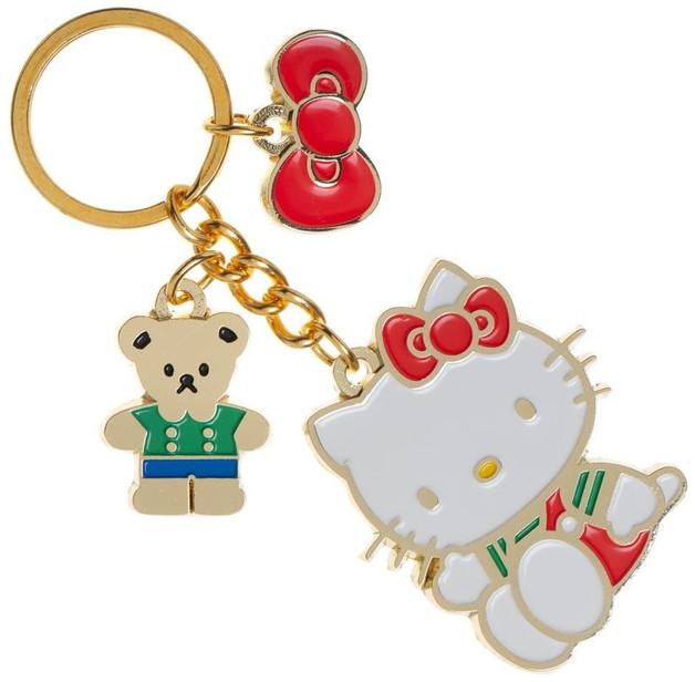 Hello Kitty Multi Charm Keychain