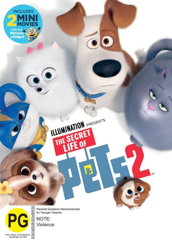 The Secret Life Of Pets 2 Dvd In Stock Buy Now At Mighty Ape Nz