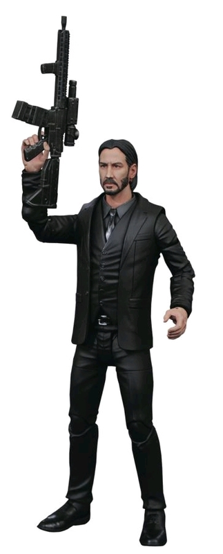John Wick (Black Suit) - Action Figure