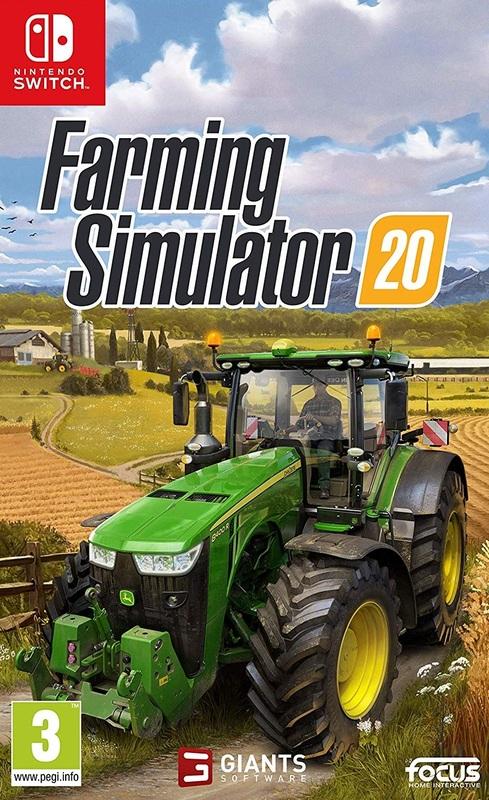 Farming Simulator 20 for Switch