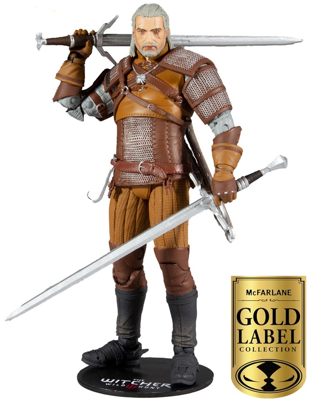 """The Witcher: Geralt of Rivia - 7"""" Action Figure"""