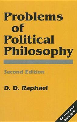 Problems Of Political Philosophy by Raphael image