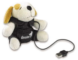 Genius VideoCAM Web Camera Dog Look 312P