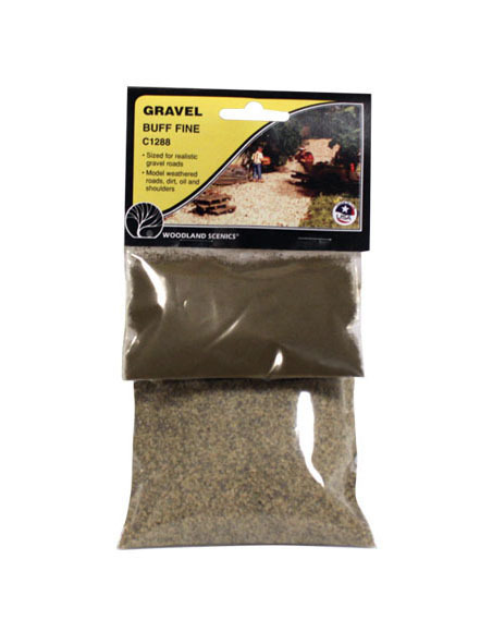 Woodland Scenics Gravel Buff - Fine