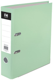 FM: A4 Lever Arch Binder - Pastel Mint Green