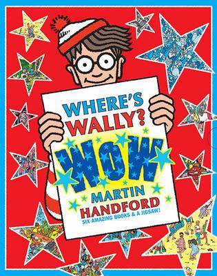 Where's Wally? Wow Box Set (6 Books/Jigsaw) by Martin Handford