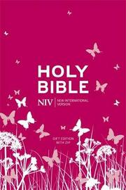 NIV Pocket Pink Soft-tone Bible with Zip by New International Version