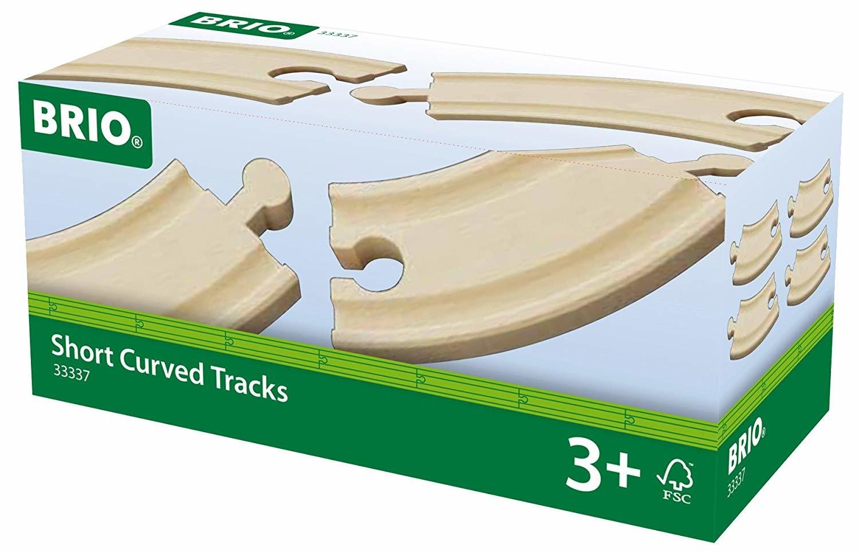 Brio: Railway - Short Curved Track image