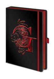 Harry Potter Premium Foil PU A5 Notebook - Griffyndor
