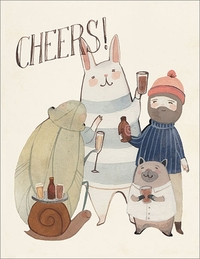 Cheers Congratulations Greeting Card