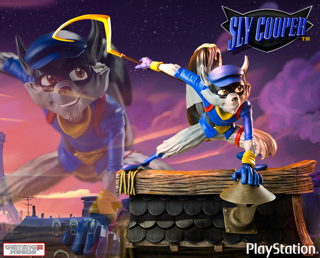 """Sly Cooper 12"""" Statue"""