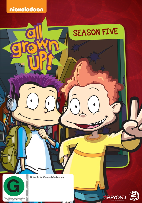 Rugrats: All Grown Up - Season 5 on DVD