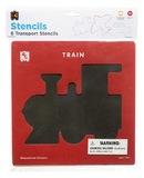 EC Colours - Transport Stencil Set - Pack of 6