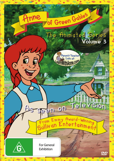 Anne Of Green Gables - The Animated Series: Vol. 3 on DVD image