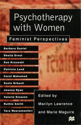 Psychotherapy with Women by Marilyn Lawrence image