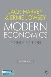 Modern Economics by Jack Harvey image