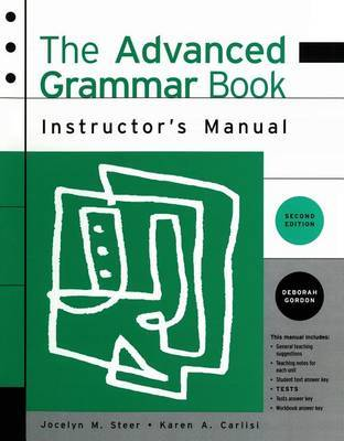 Advanced Grammar Book by STEER
