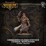 Warmachine: Cygnar Commander Coleman Stryker Warcaster (New)