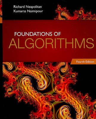 Foundations of Algorithms by Richard E Neapolitan