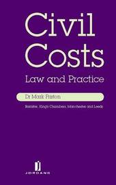 Civil Costs: Law and Practice by Mark Friston image
