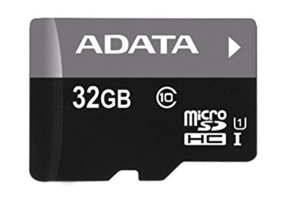 ADATA MicroSDHC Card