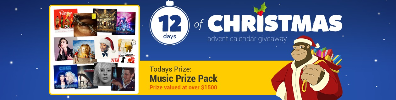 12 Days: Music Prize Pack