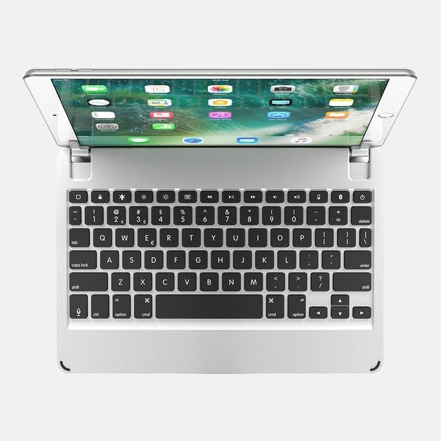 "Brydge 10.5 Bluetooth Keyboard for 10.5"" iPad Pro - Silver"