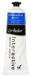 Atelier: Interactive Artists' Acrylic Paint - Cerulean Blue Hue (80ml)